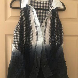 Buckle Gimmicks Shirt Vest